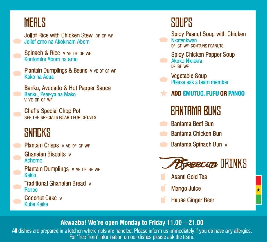 liverpool-street-menu