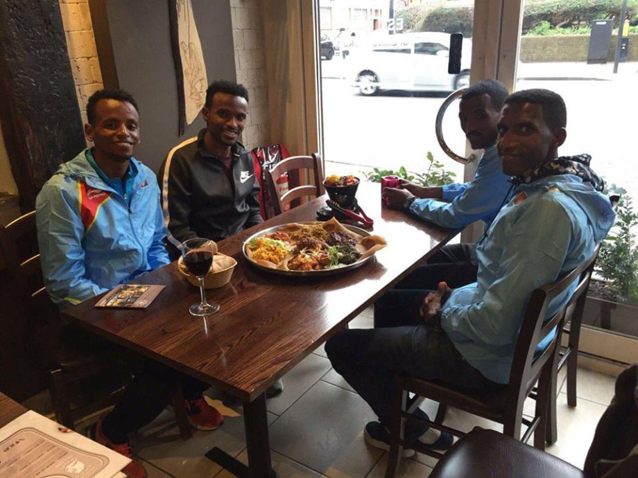 Eritrean-Athletes-Arrive-Safely-in-London-Heathrow-For-Half-Marathon-Championship-in-Cardiff2