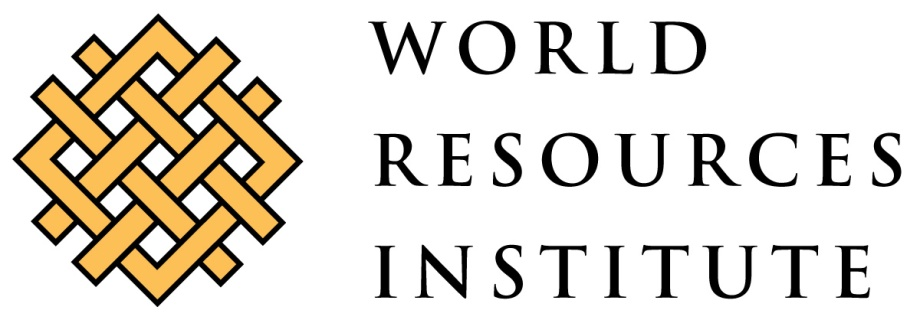World Resources Institute Job Vacancy
